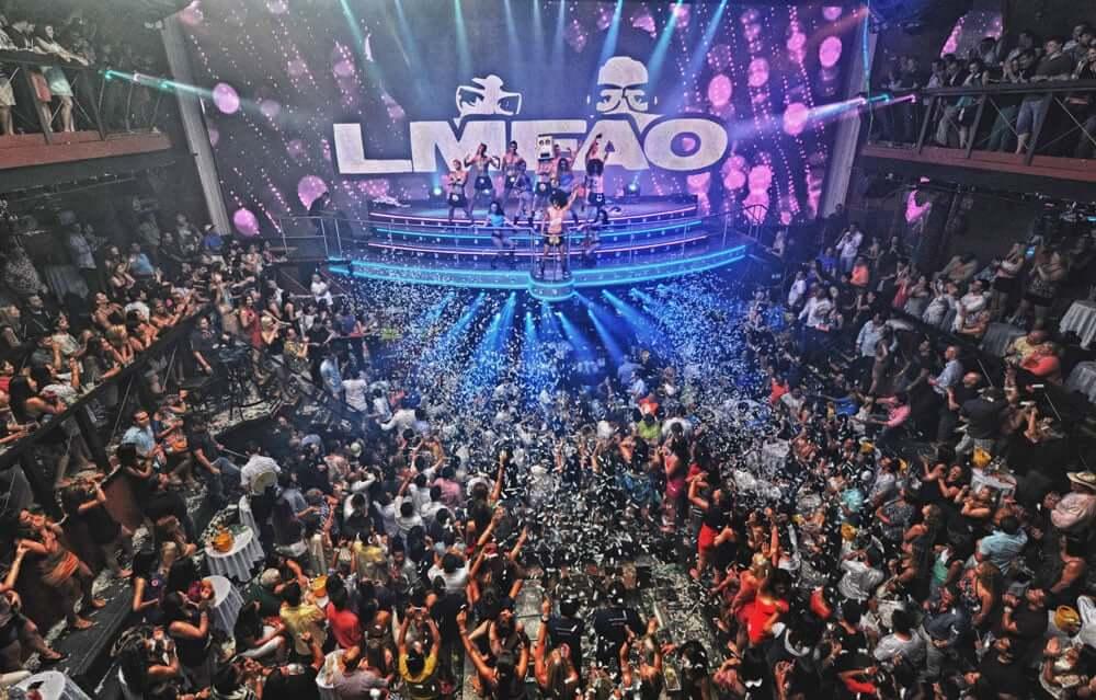 Show at Coco Bongo nightclub in Cancun