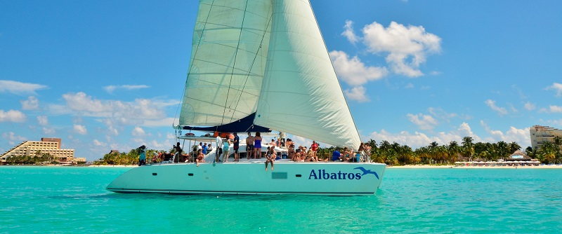 Boat on Isla Mujeres