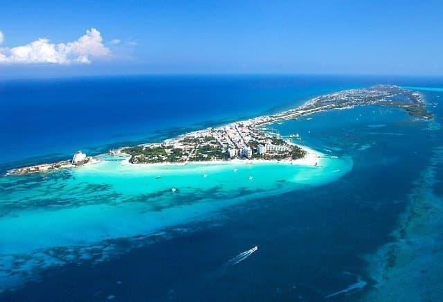 Cancun panoramic view