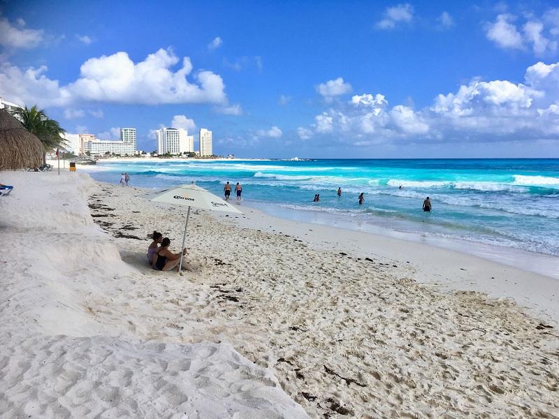 Chac Mool Beach in Cancun