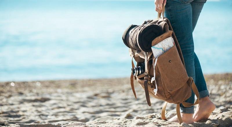 Traveler in Cancun