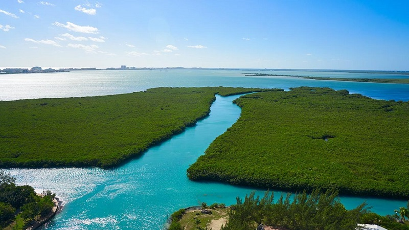 Nichtupé lagoon
