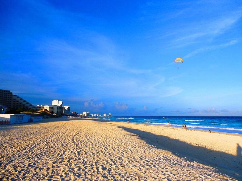 Marlin Beach in Cancun