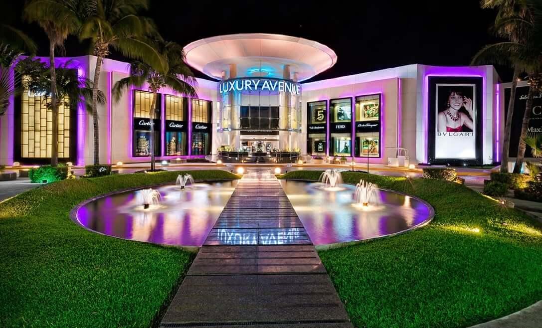 Kukulcan Plaza mall in Cancun