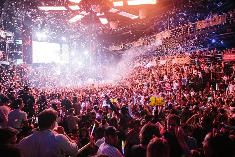 Nightclub in Cancun