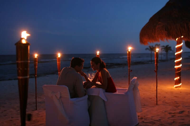 Romantic place in Cancun