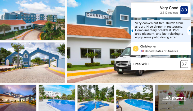 Hotel Courtyard Cancun - Booking