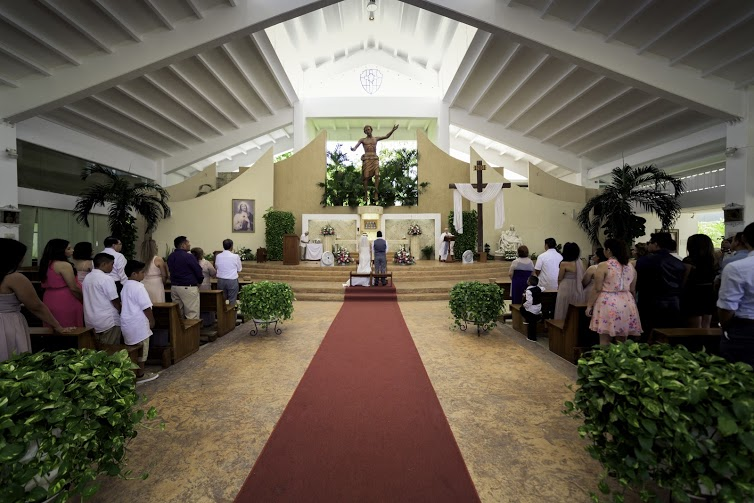 Church of the resurrected Christ in Cancun
