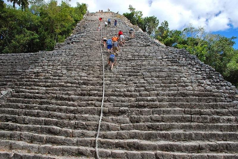 Pyramid of Cobá