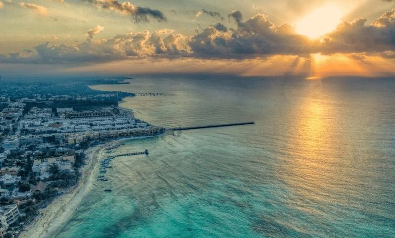 Carmen Beach in Cancun