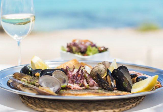 restaurant dish in Cancun