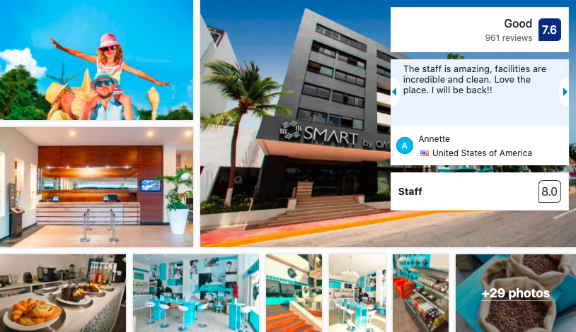 Hotel Smart Cancun by Oasis - Booking