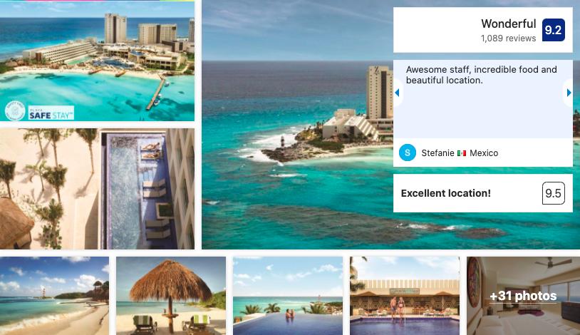 Resort Hyatt Ziva in Cancun - Booking