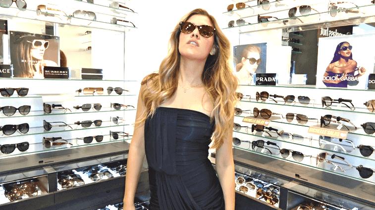 Sunglasses Hut store in Cancun
