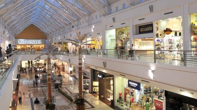 Plaza Las Americas mall in Cancun