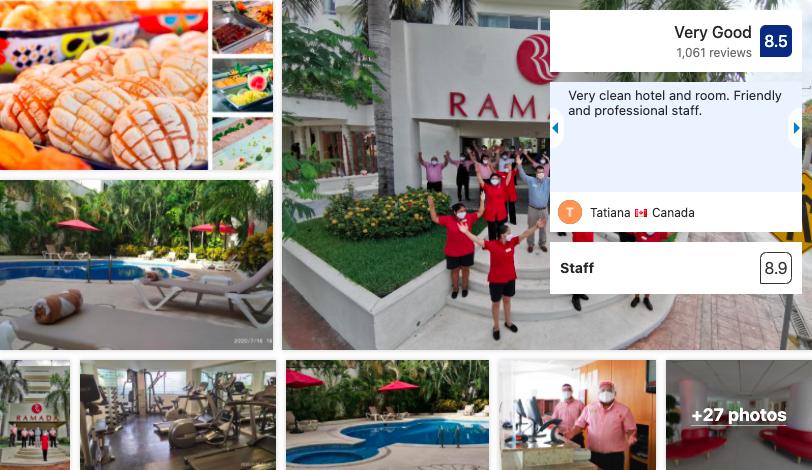Ramada Cancun City in Downtown Cancun - Booking