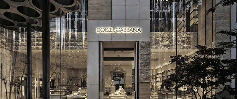 Dolce & Gabbana store at Plaza La Isla mall in Cancun