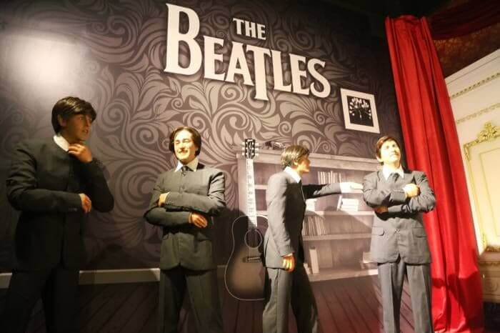 The Beatles at the Cancun Wax Museum