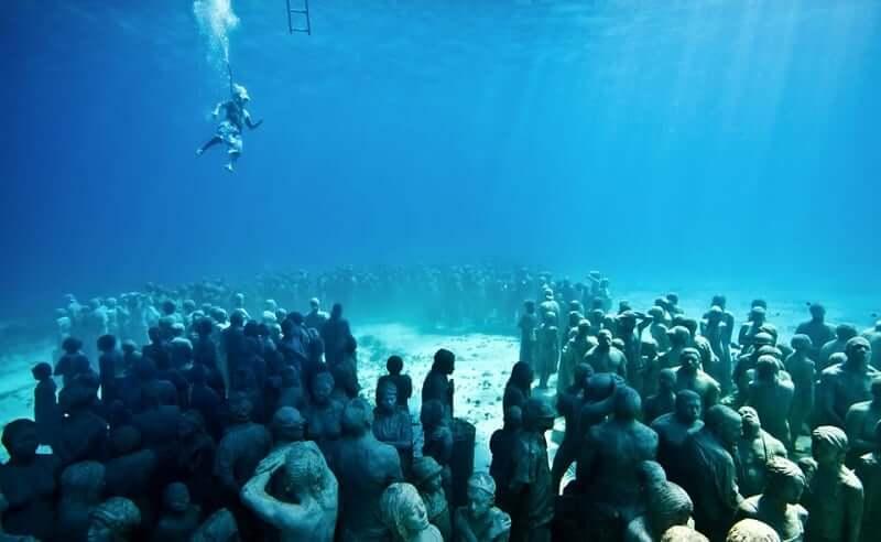 Underwater Museum of Art in Cancun