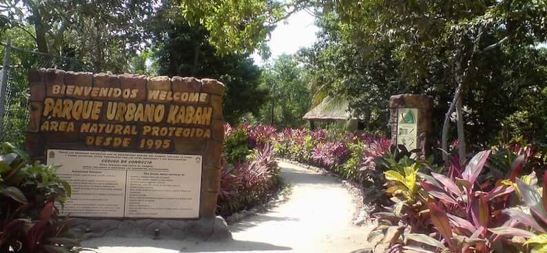 Urbano Kabah Park in Cancun