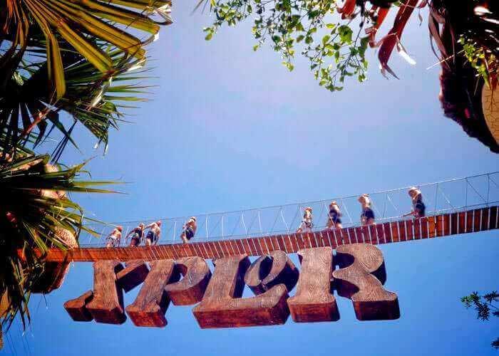 Xplor Park in Cancun