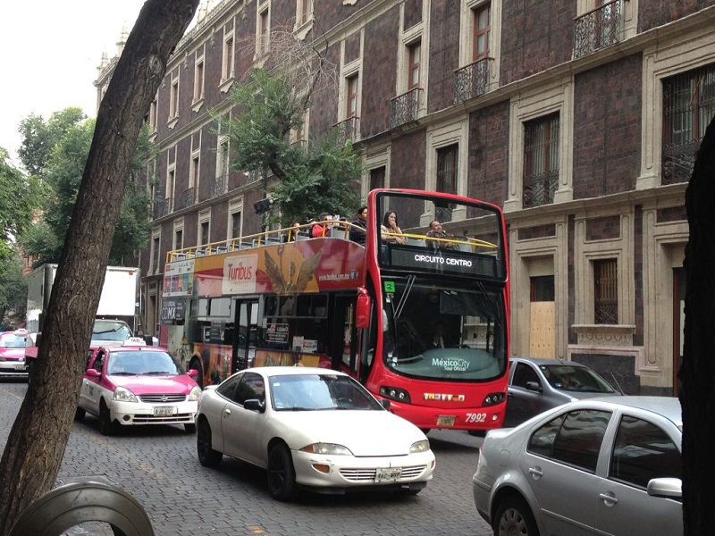 Hop On Hop Off Bus in Mexico City