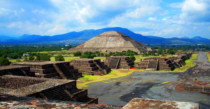Teotihuacán Pyramids in Mexico City