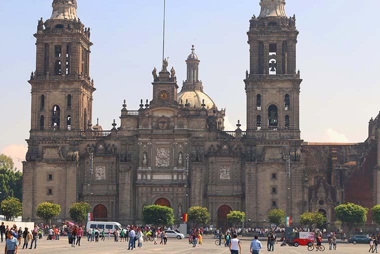 Zócalo in Mexico City
