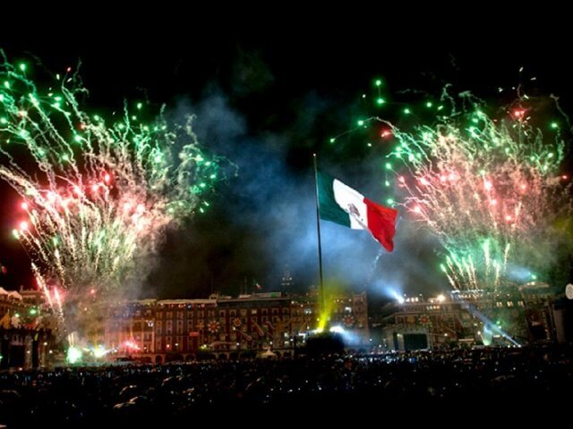 New Year in Mexico City