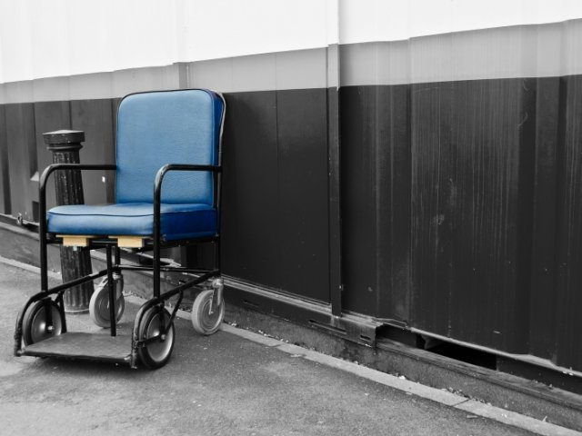 Disabled people in Mexico City