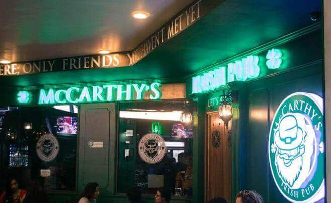 McCarthy's Irish Pub in Cancun