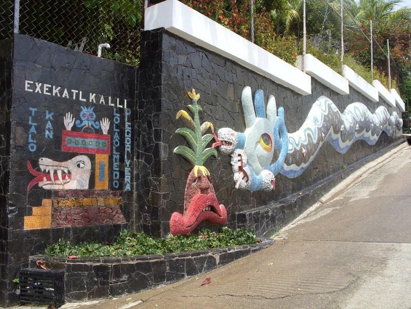 Diego Rivera Mural in Acapulco