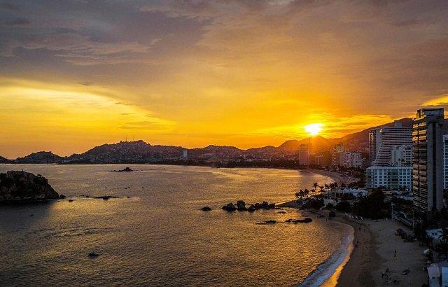 Tourist map of Acapulco