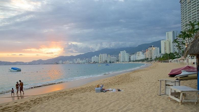 Icacos Beach in Acapulco