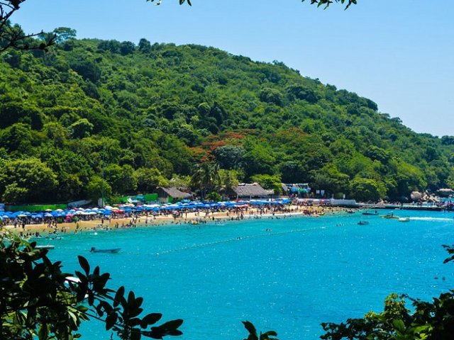 Roqueta Island in Acapulco