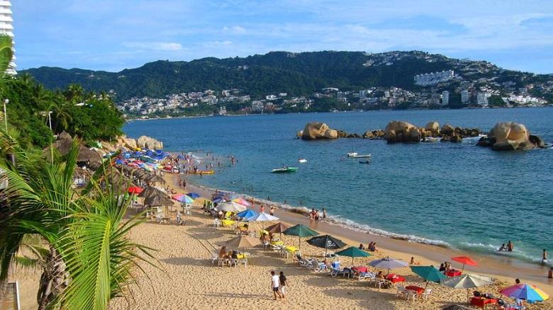 La Condesa Beach in Acapulco