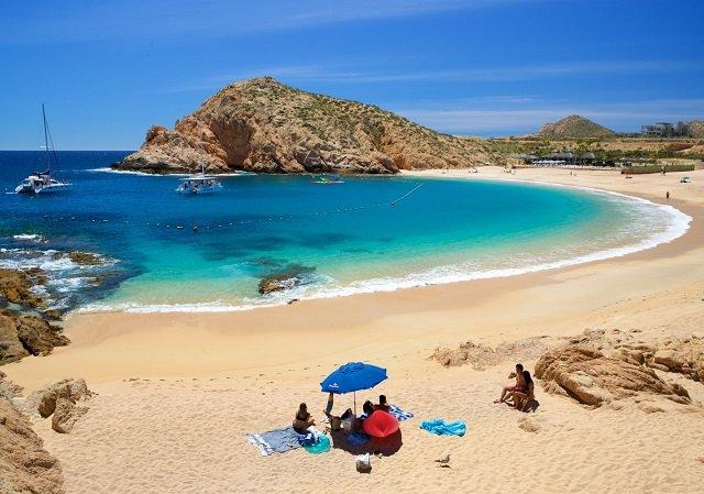 Santa Maria Beach in Los Cabos