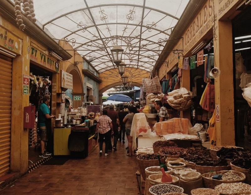El Popo Market in Tijuana