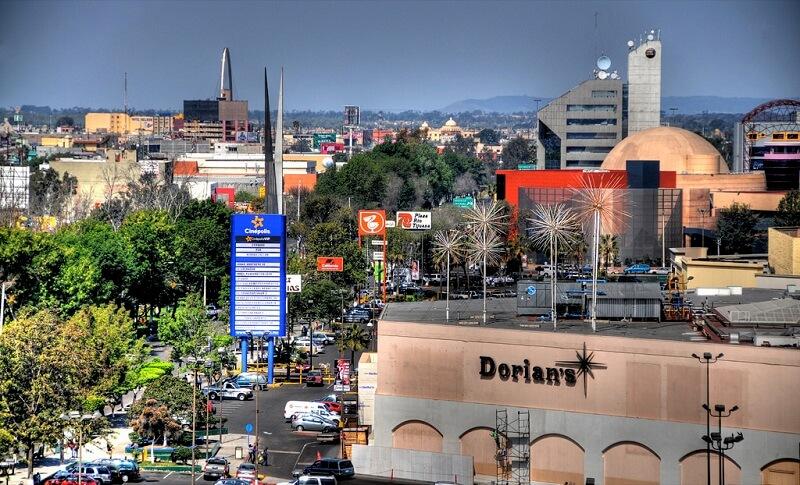 Zona Río (River Zone) in Tijuana
