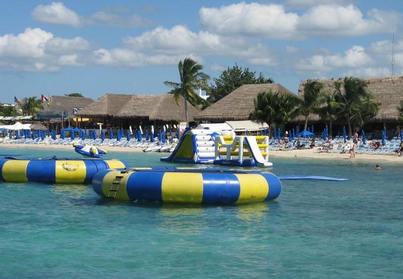 Paradise Beach in Cozumel