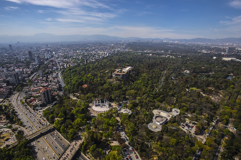 Chapultepec Forest in Mexico City