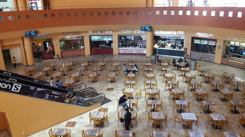 Inside the Premium Outlets Punta Norte in Mexico City