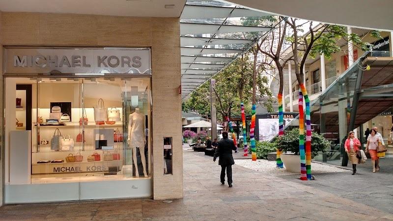 Michael Kors store at the Antara Fashion Hall mall