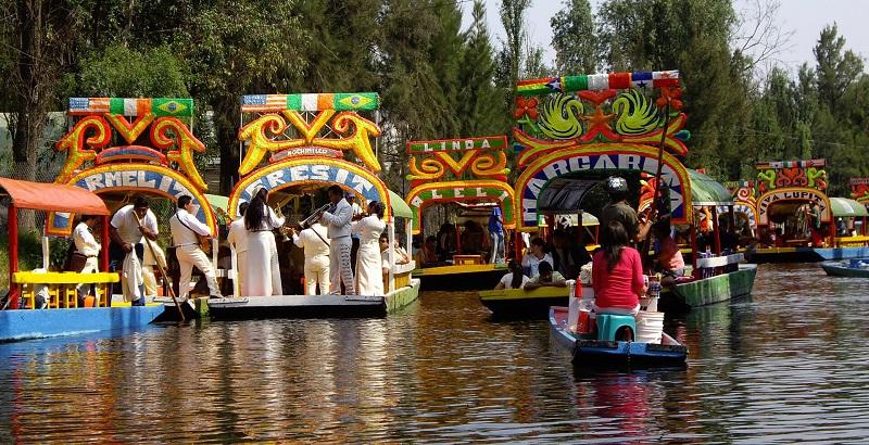 Tour of Xochimilco in Mexico City