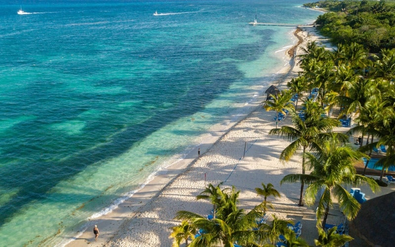 Cozumel Island in Mexico