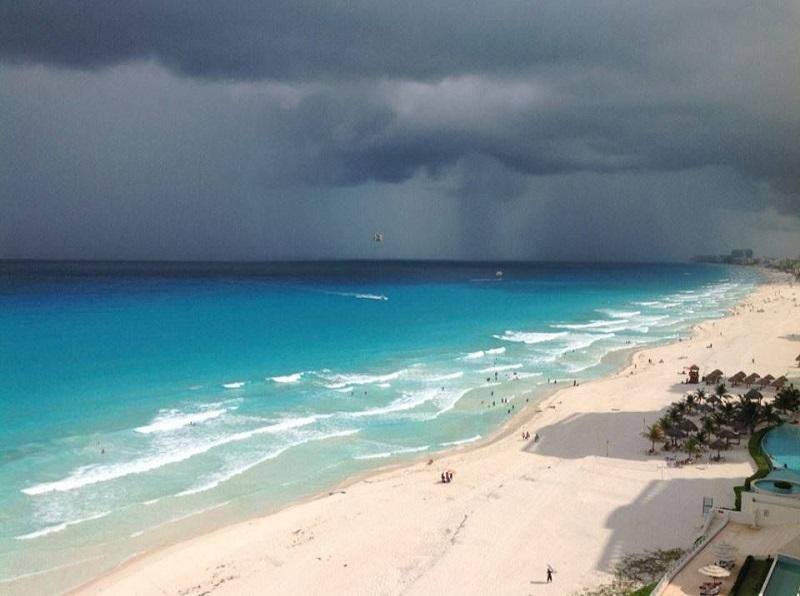 Rain in the Gulf of Mexico
