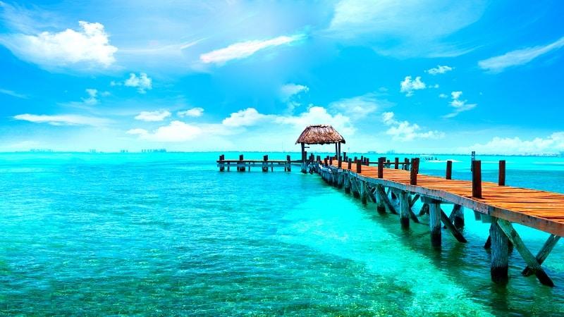 Sea in Cancun