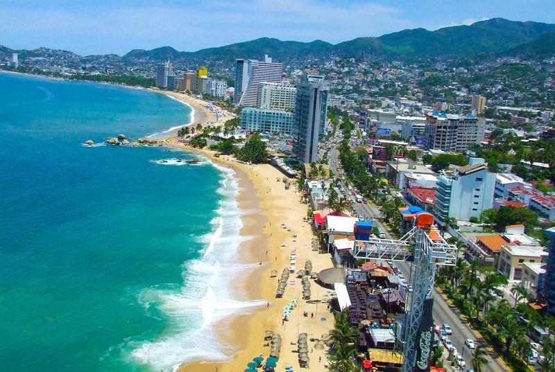 Golden Zone in Acapulco
